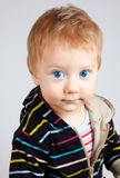 Blonde baby boy Royalty Free Stock Photos