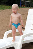 Blonde baby boy Royalty Free Stock Photos