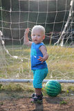 Blonde baby boy Stock Photo