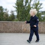 Blonde baby boy Royalty Free Stock Image