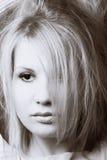 Blonde Baumusteraufstellung Lizenzfreie Stockfotografie