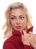 Blonde Baumusteraufstellung Lizenzfreie Stockfotos