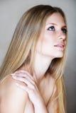 Blonde beautful Frau Lizenzfreie Stockfotos