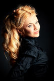 Blonde beauty Stock Images