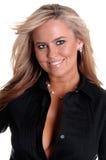 Blonde Blauwe Ogen Royalty-vrije Stock Fotografie