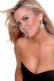 Blonde Blauwe Ogen royalty-vrije stock afbeeldingen