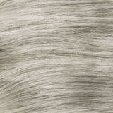 Blonde bleached healthy clip-in hair texture. Stock image stock photography