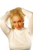 Blonde on blonde Stock Photo