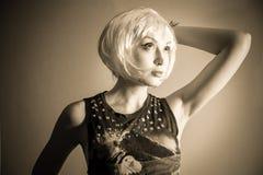 Blonde bob Stock Images