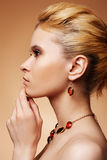 Blonde bonito Foto de Stock Royalty Free