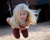 Blonde bonito Imagens de Stock