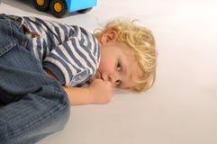 Blonde Boy stock photos