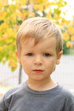 Blonde boy Royalty Free Stock Images
