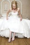 Blonde Braut Lizenzfreies Stockbild