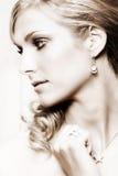 Blonde Braut Lizenzfreie Stockfotos