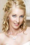 Blonde Braut Lizenzfreies Stockfoto