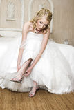 Blonde Braut Stockfotografie