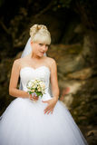 Blonde Braut Lizenzfreie Stockbilder