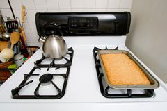 Blonde Brownies Stock Photography