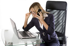 Blonde Business Royalty Free Stock Image