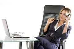 Blonde Business Stock Photography