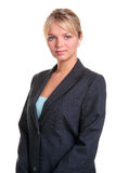 Blonde businesswoman portrait Stock Images