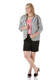 Blonde caucasian businesswoman Stock Photo