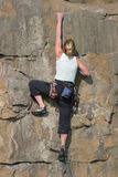 Blonde Climber Stock Photos