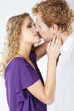 Blonde couple Royalty Free Stock Photography