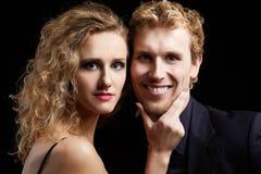 Blonde couple Royalty Free Stock Photo