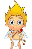 Blonde Cupid Character Royalty Free Stock Photo