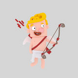 Blonde Cupid. Easy combine! 4000 x 4000 / 300 dpi / Isolate Royalty Free Stock Image