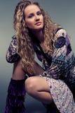 Blonde d'avanguardia fotografia stock libera da diritti