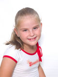 Blonde da menina Imagens de Stock Royalty Free