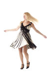 Blonde in dance Stock Photos