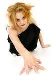 Blonde de Goth Foto de Stock Royalty Free