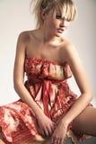 Blonde de la belleza Foto de archivo