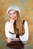 Blonde de la muchacha Fotos de archivo libres de regalías
