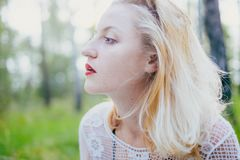 Blonde de marbre images stock