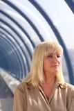 Blonde de mediana edad Foto de archivo