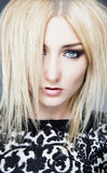 Blonde del encanto Imagenes de archivo