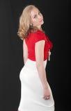 Blonde delgado foto de archivo libre de regalías