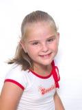 Blonde della bambina Immagini Stock Libere da Diritti