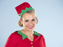 Blonde Elfenfrau Lizenzfreies Stockbild