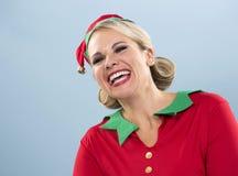 Blonde Elfenfrau Lizenzfreie Stockbilder
