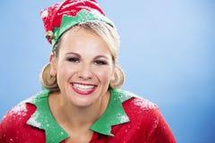 Blonde Elfenfrau Stockfotos