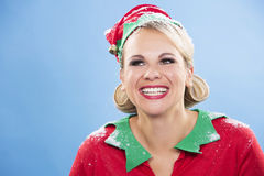 Blonde Elfenfrau Lizenzfreie Stockfotografie