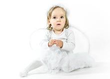 Blonde engel Royalty-vrije Stock Afbeeldingen