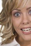 Blonde facees stock afbeeldingen