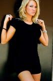 Blonde Fashion Model Stock Image